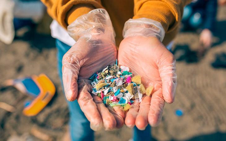 micro plásticos en la cosmética
